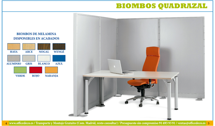 Im genes de biombos muebles y sillas de oficina for Biombos metalicos