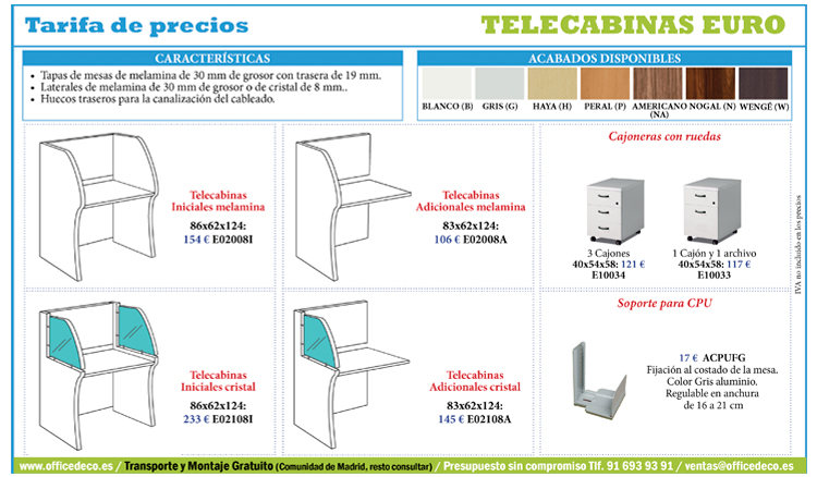 telecabinas-euro-32 Tarifa call center serie euro
