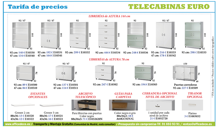 telecabinas-euro-52 Tarifa call center serie euro