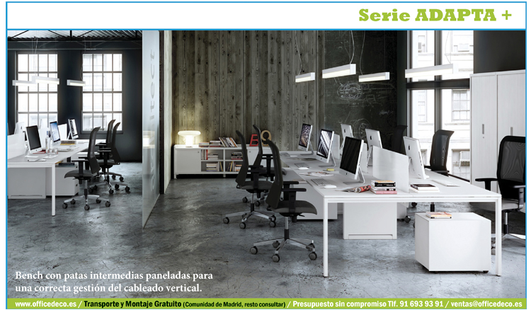 Muebles de oficina serie adapta plus