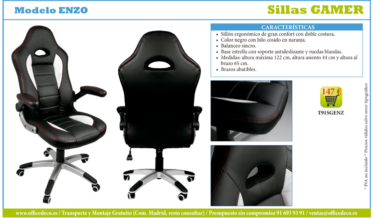 sillas-gamer-1 Silla Gaming