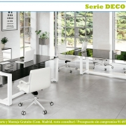 Mesas cristal deco dark grey