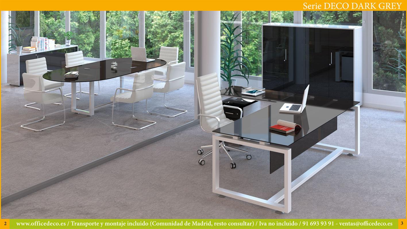 deco-dark-grey-1 Muebles de oficina en cristal Deco Dark Grey