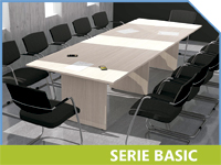 mesas de juntas y reuniones basic