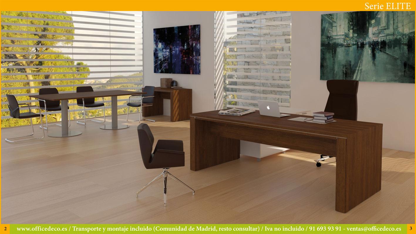 muebles de oficina dirección serie elite