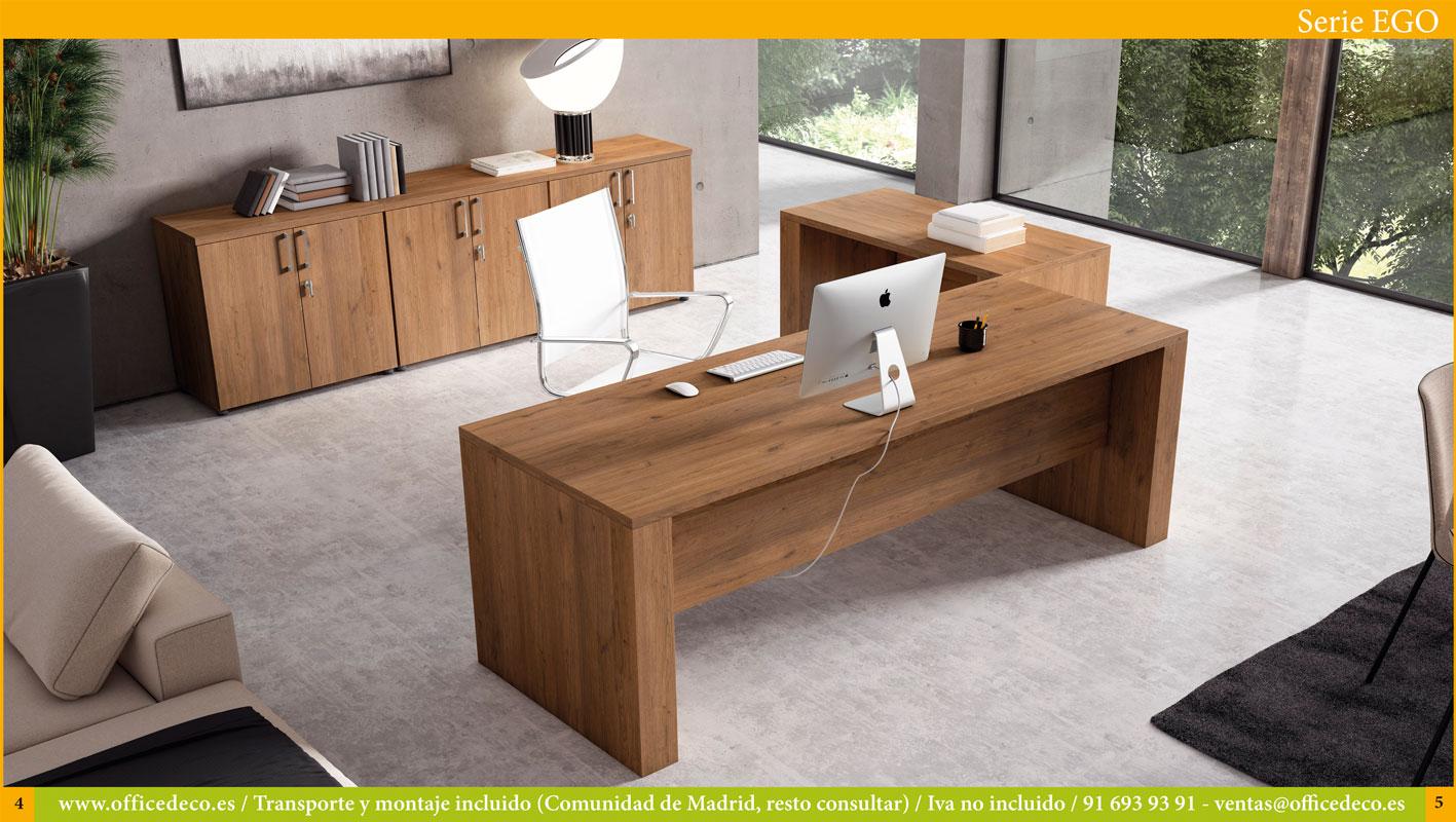 muebles de dirección y operativos serie Ego