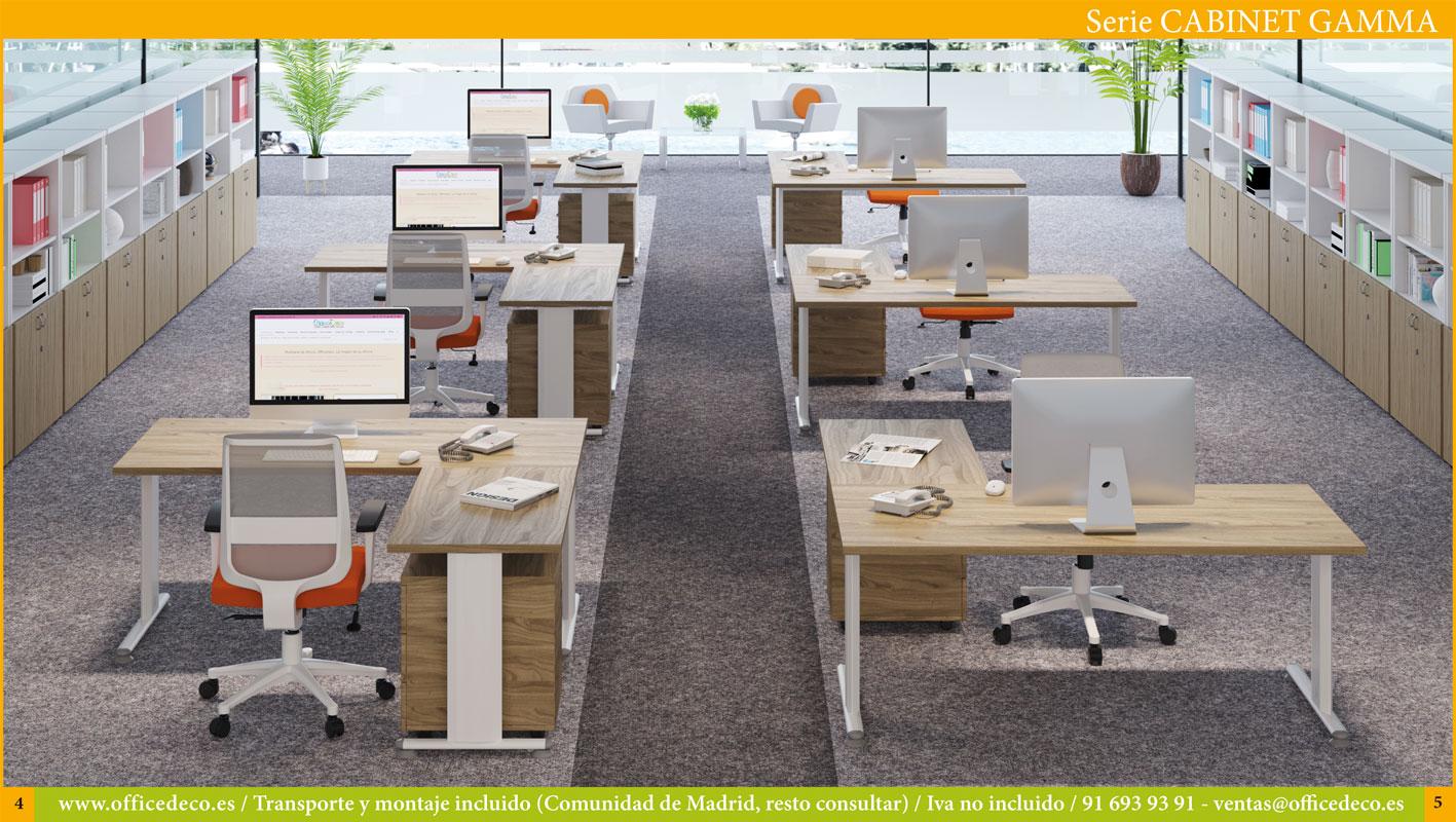 muebles de oficina operativos cabinet Gamma