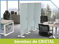 Biombos Cristal