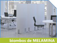 biombos melamina