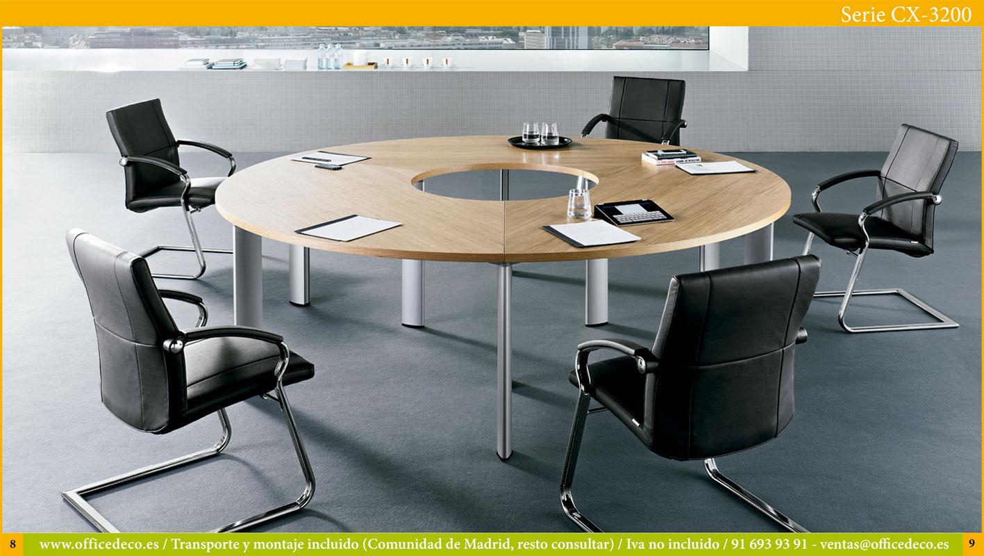 mesas de juntas serie CX-3200