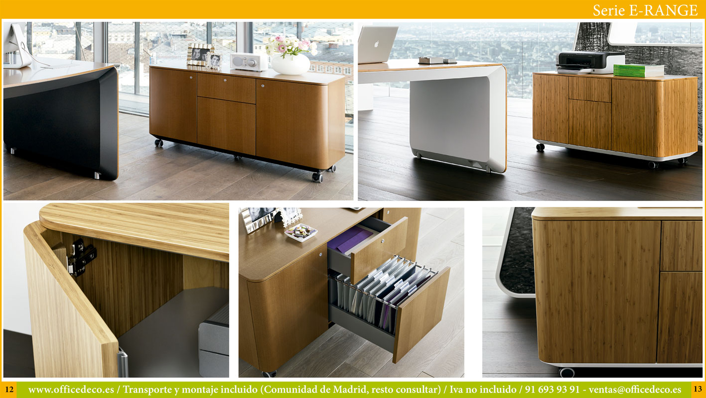 mesas de juntas serie E-Range