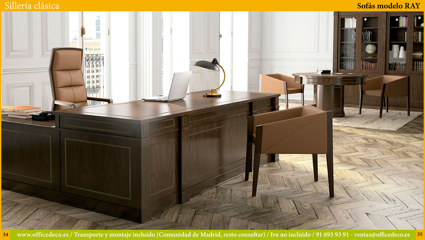 silla de oficina clasico