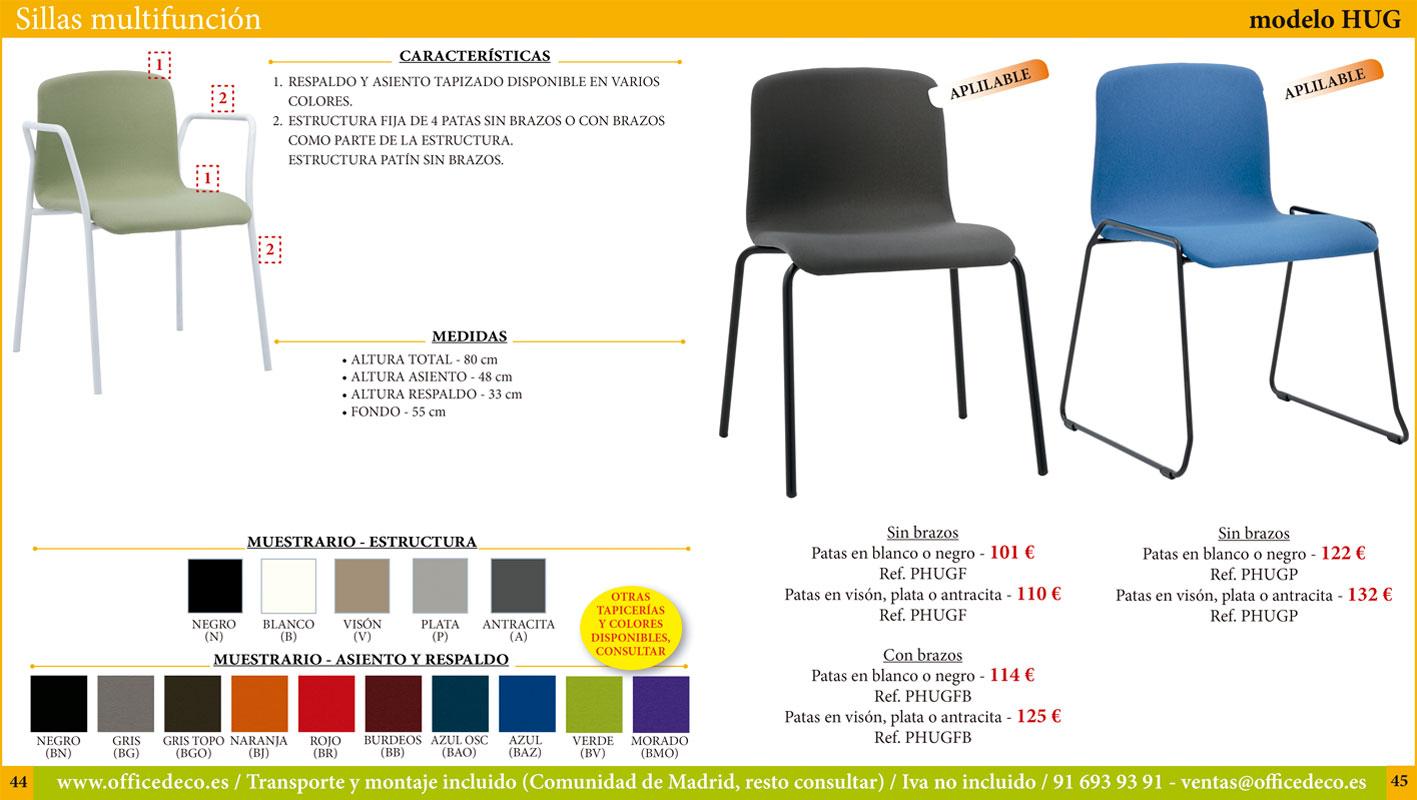 sillas multifunción