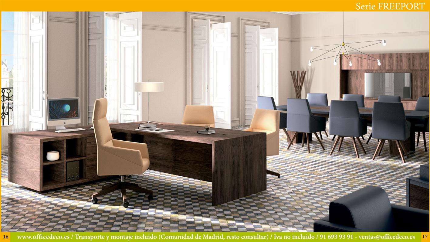 mesas de oficina dirección Serie FreePort