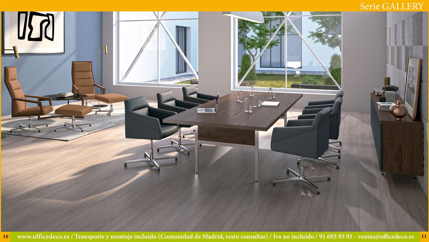 mesas de oficina dirección Serie Gallery