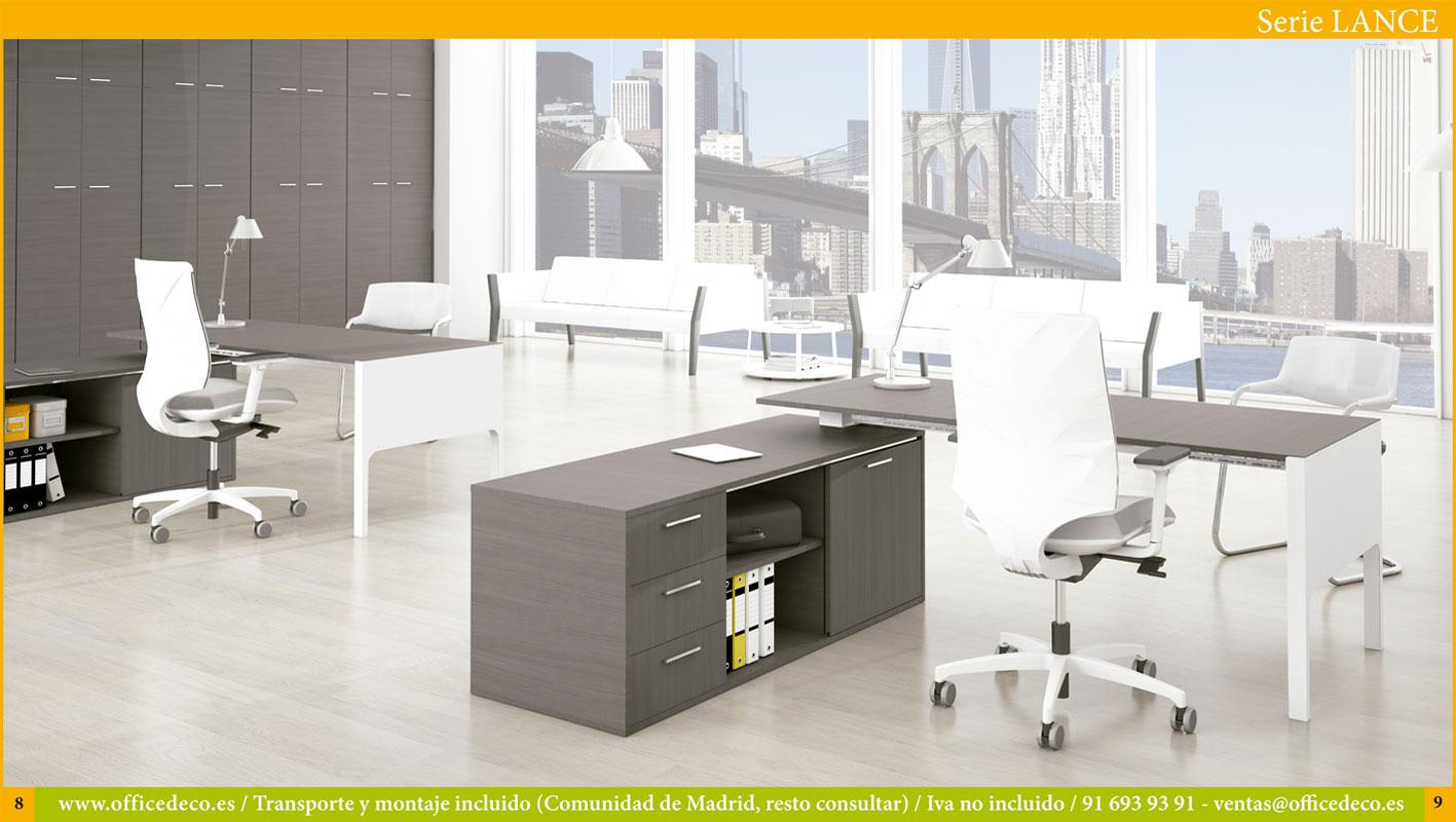 muebles de oficina direccion serie Lance