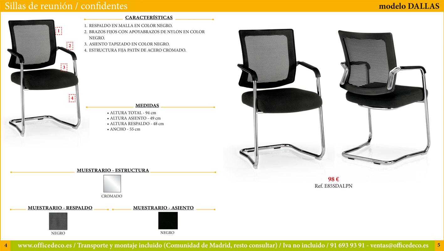 sillas de reunión