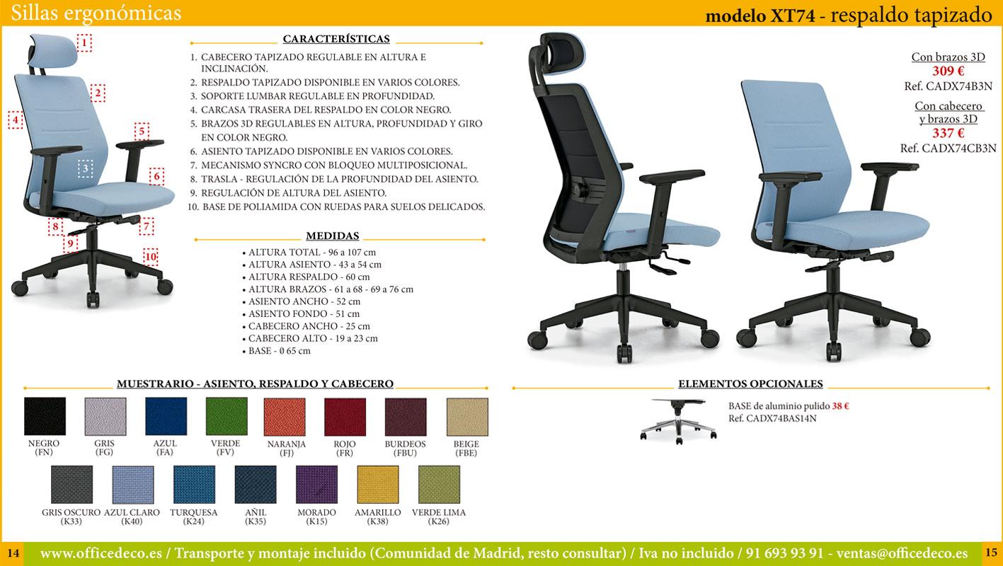 sillas ergonómicas