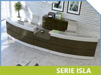 Mostradores Serie Isla.