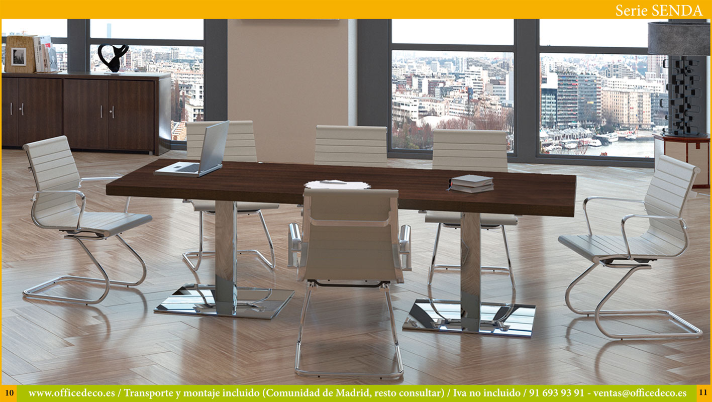 Muebles de oficina dirección serie Senda