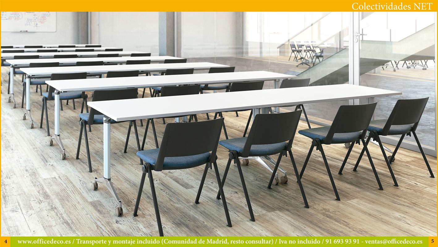 mobiliario para formación serie Net