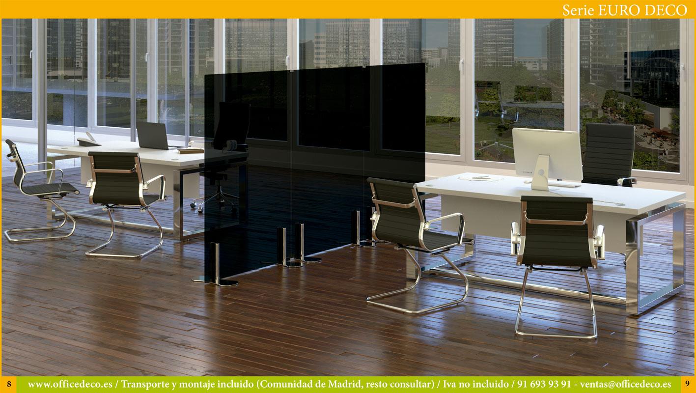Muebles de oficina operativos serie Euro Deco