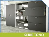 librerías de oficina serie Tono