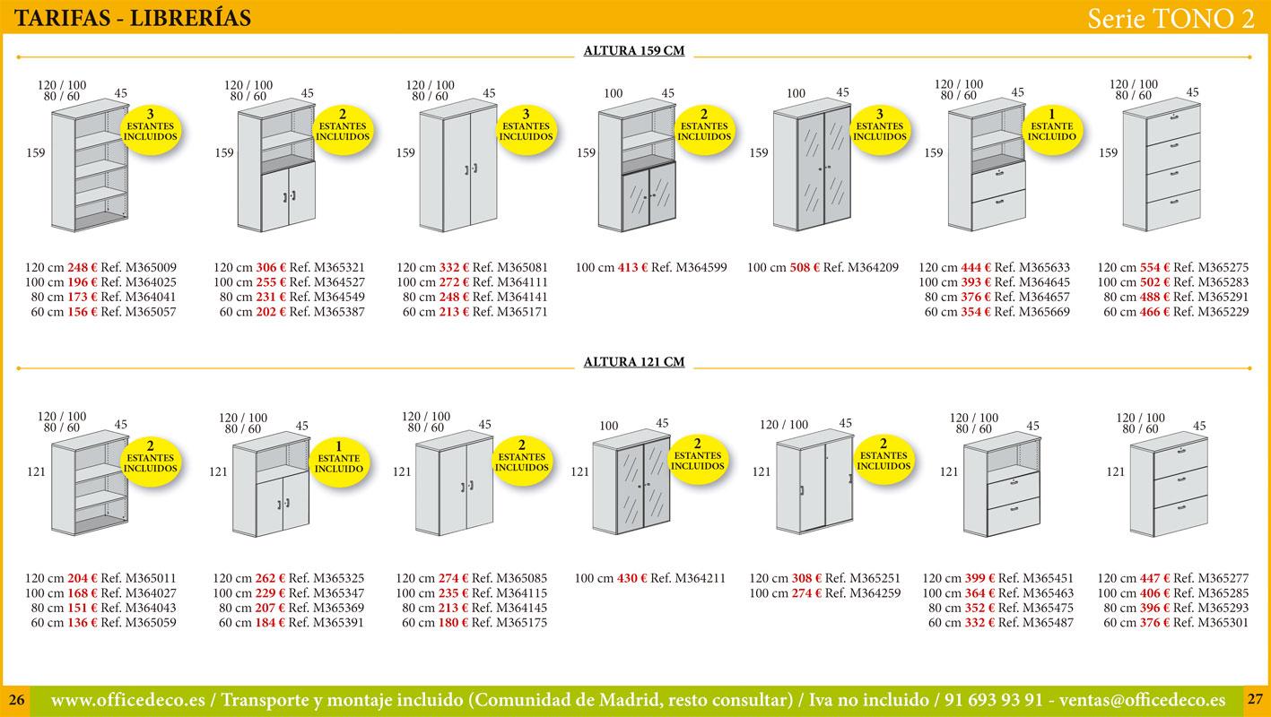 mesas operativas serie tono 2