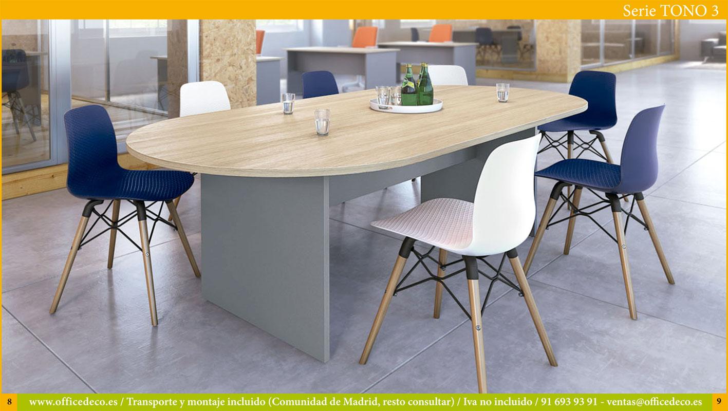 mesas de oficina serie tono 3